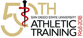 50th Anniversaryof the SDSU Athletic Training Bachelor of Science Program