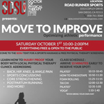SDSU DPT students hosting free injury clinic at Roadrunner Sports on Oct. 1, 2016