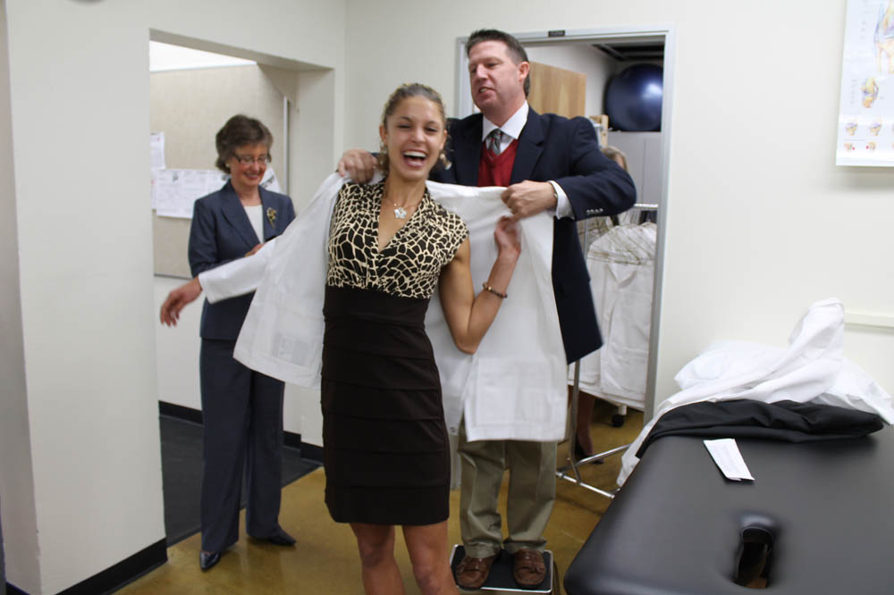 First DPT Class Receives Coats at White Coat Ceremony — SDSU ...