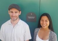 Dr. Shawn O'Connor and Paula Baluyut