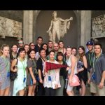 ENS students in Rome, July 13, 2015