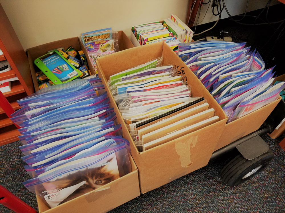 ENS Staff Member Collects Crayons and Coloring Books For Rady ...