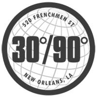 30/90 logo