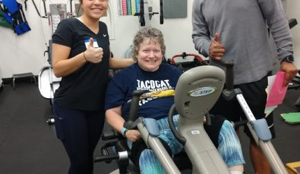 Fitness Clinic working with community