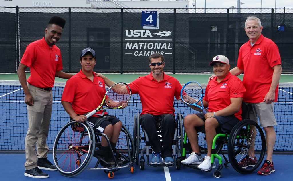 Wheelchair Tennis Team