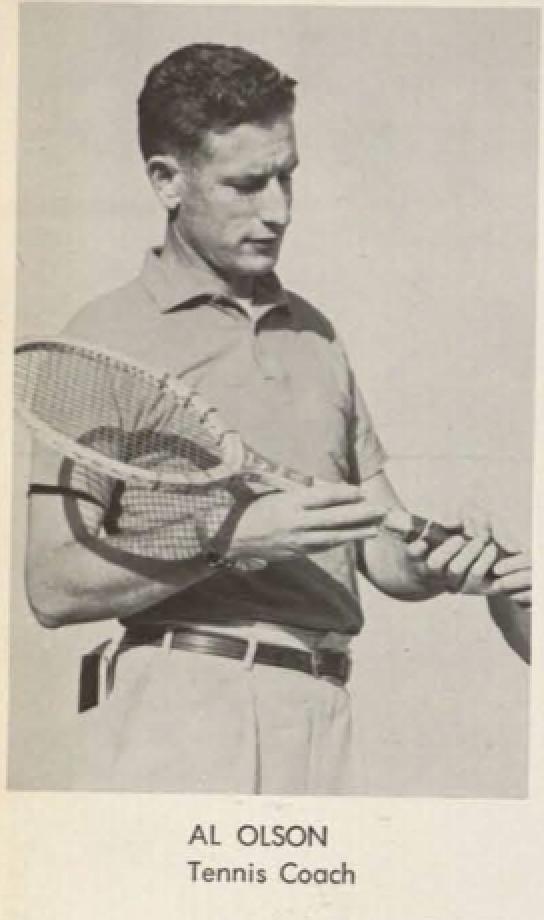 Al Olson Tennis Coach