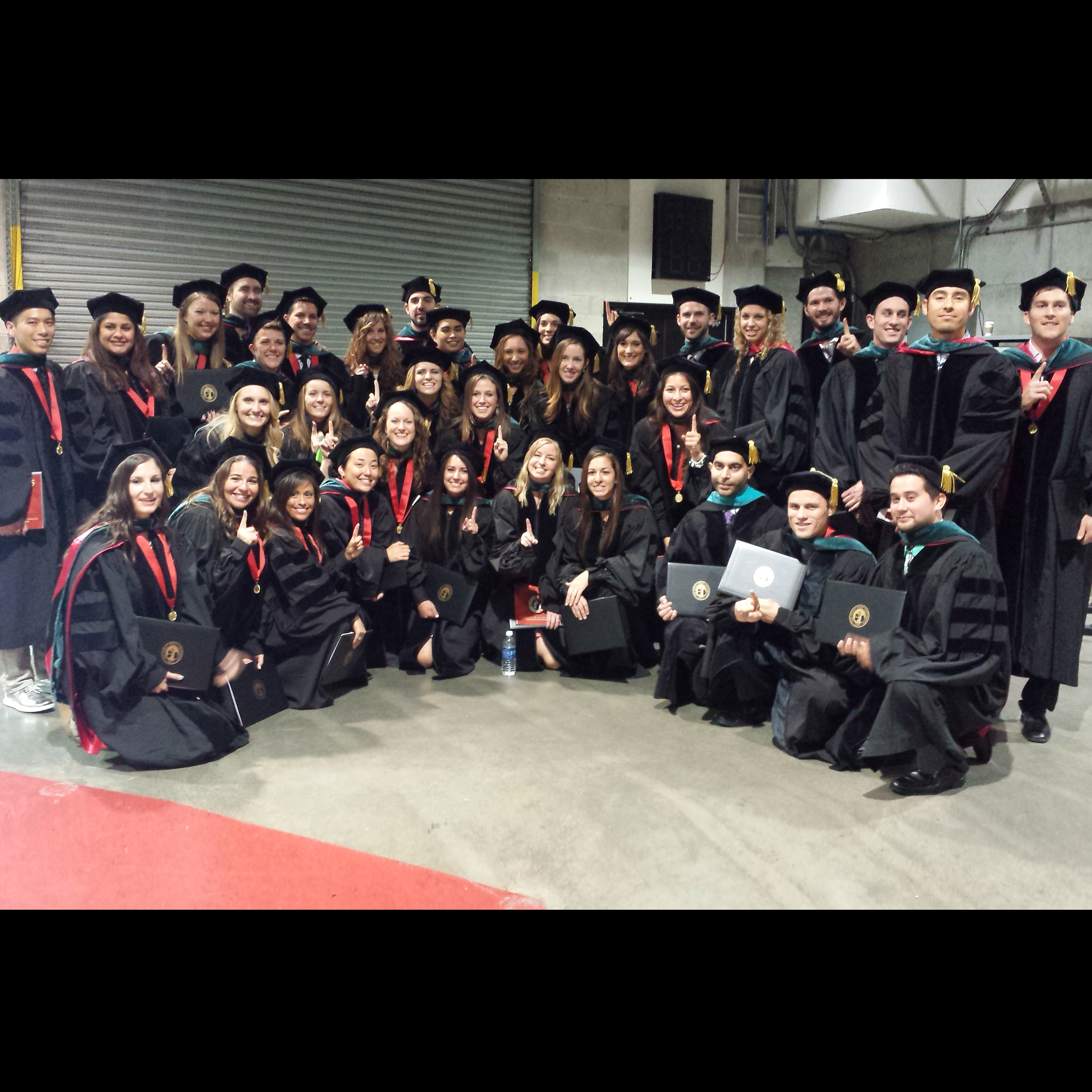 Doctor of physical therapy program - First Cohort Of The Sdsu Doctor Of Physical Therapy Program