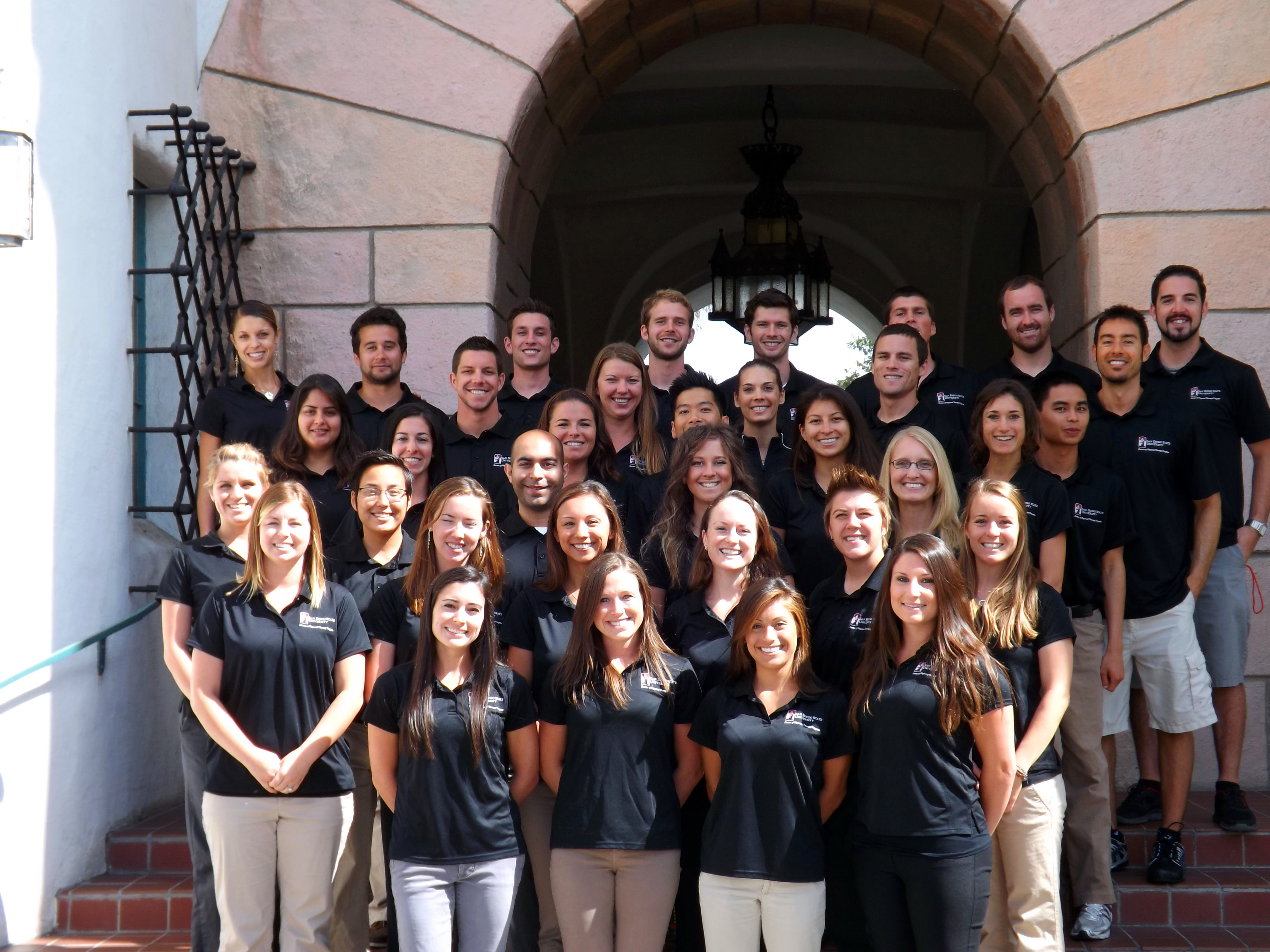 Doctorate of physical therapy program - First Cohort Of The Sdsu Doctor Of Physical Therapy Program
